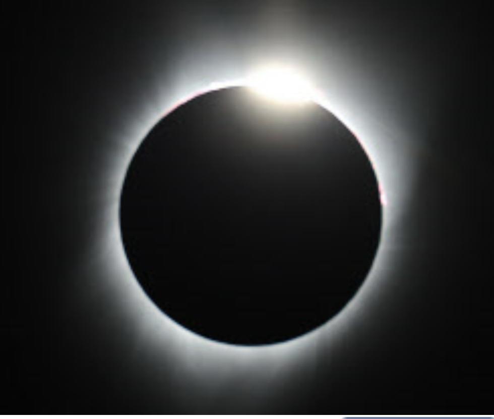オレゴン州の日食