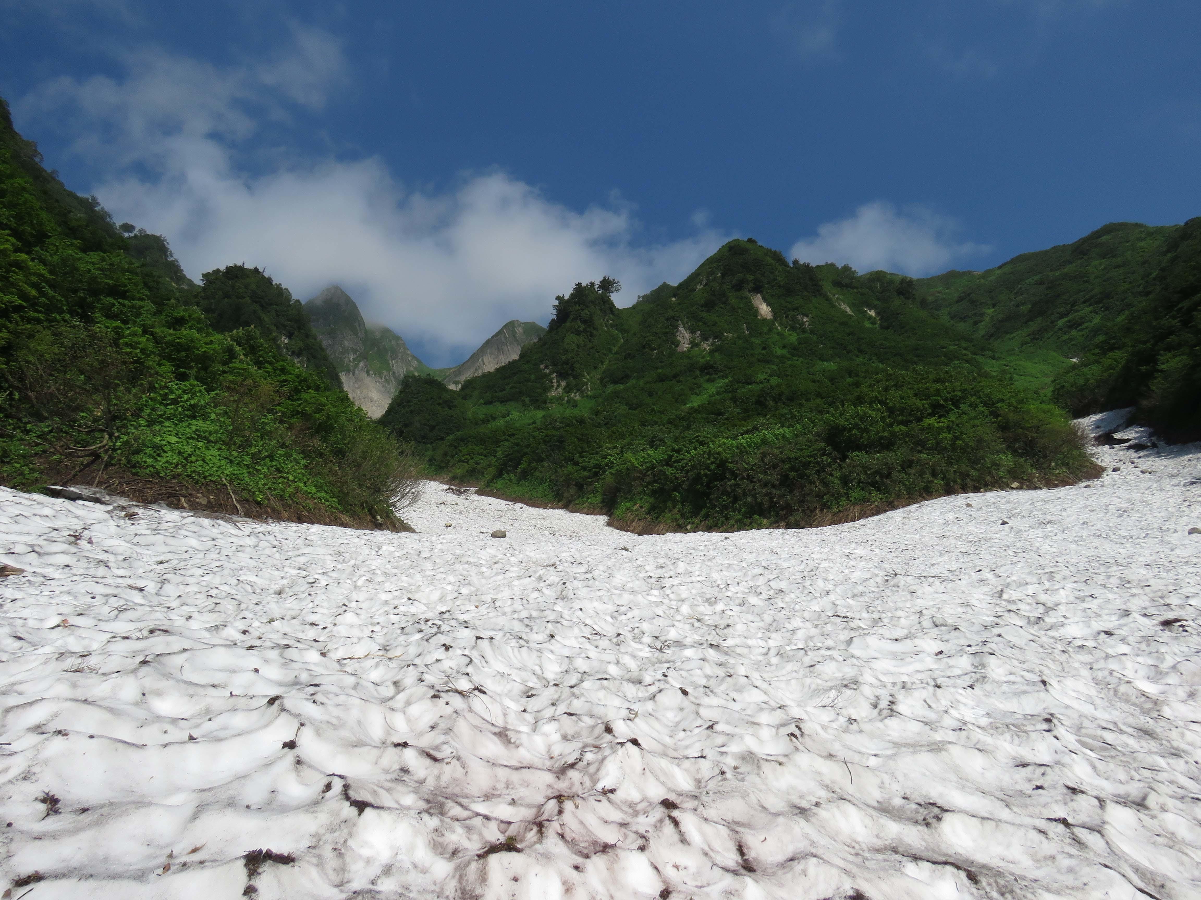 雪渓_170720