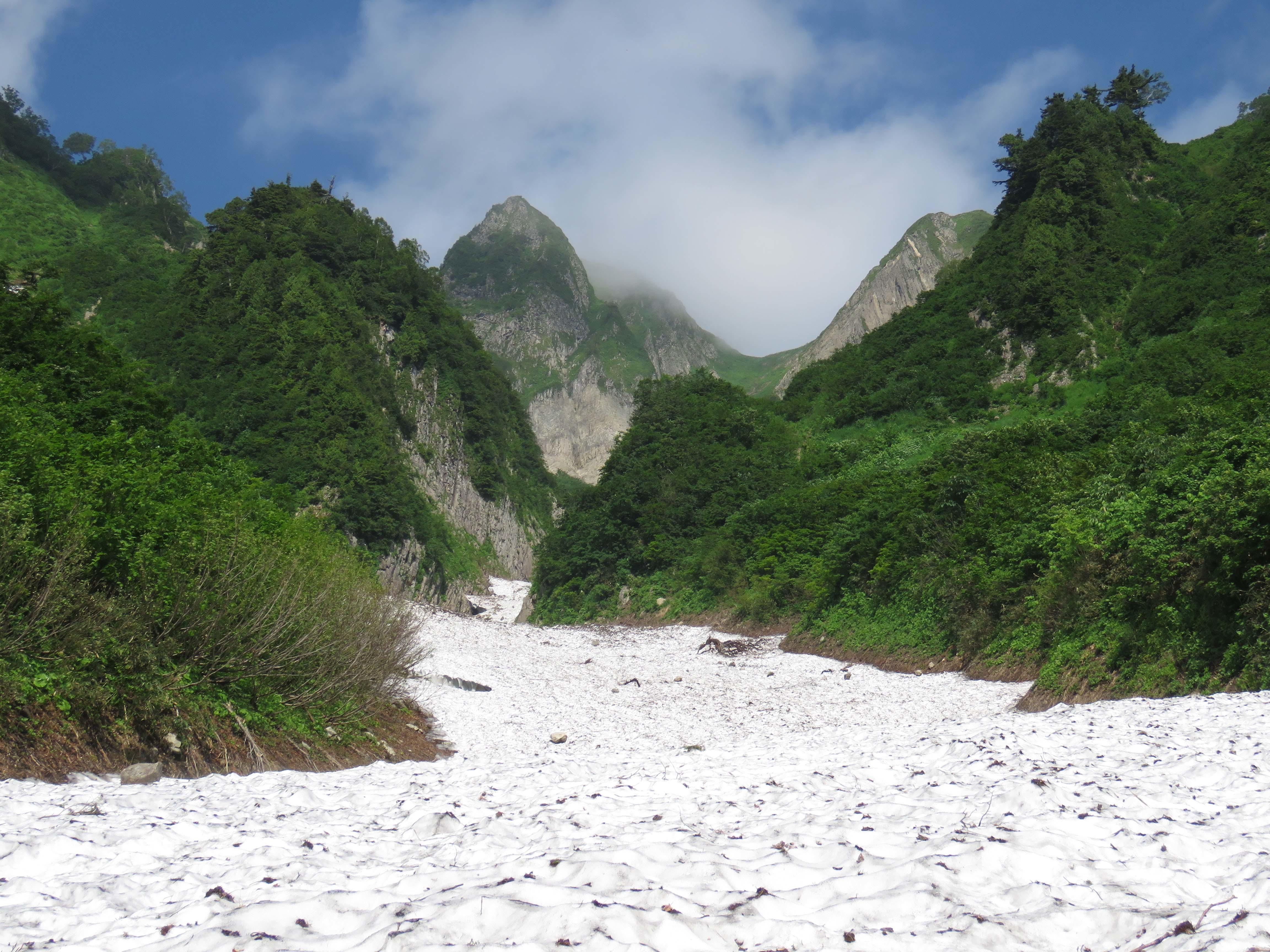 雪渓B_170720