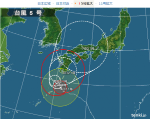 typhoon No 5