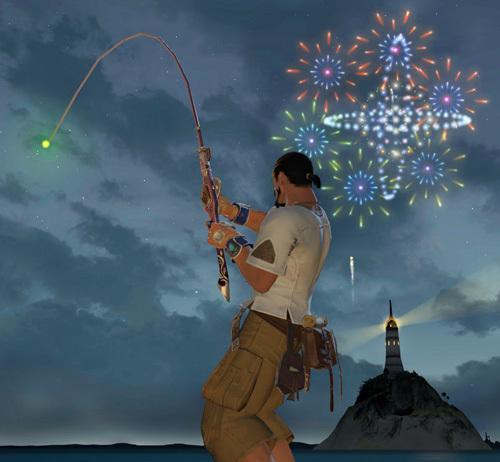 コスタの島で釣り
