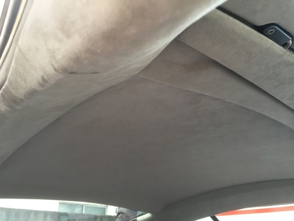 天井張り直し アストンマーティンDB9