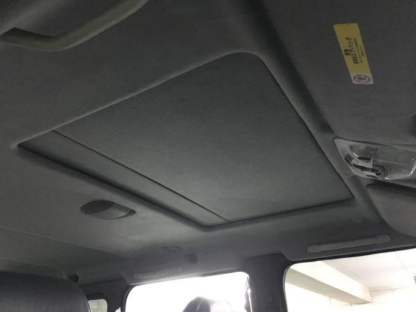天井・サンルーフ張替え ベンツG500