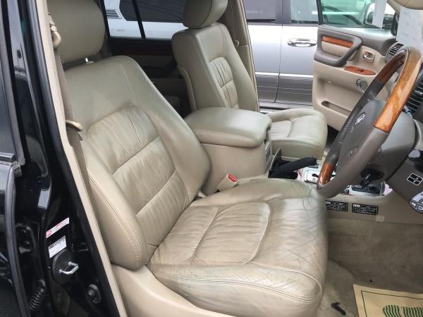 レザーシート 劣化ひび割れ補修 トヨタ ランドクルーザー