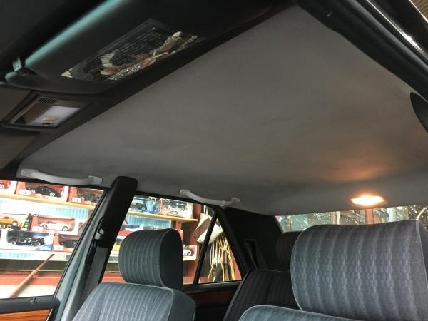 天井張替え ベンツ300E (W124)