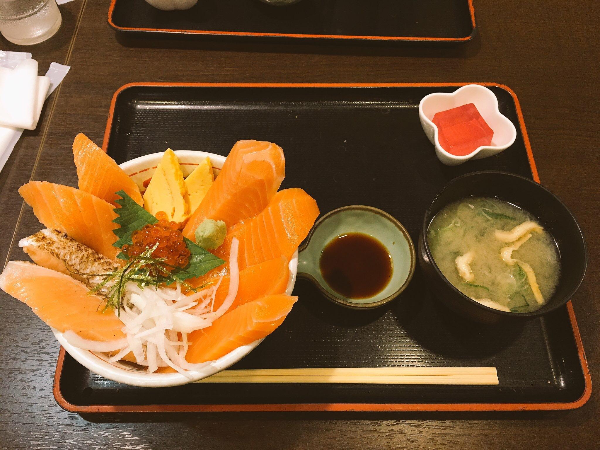 20170909サーモン丼
