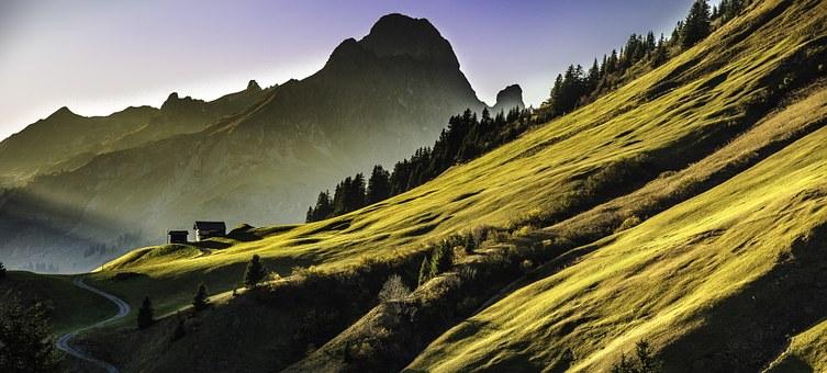 無料山の写真