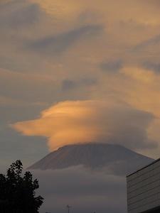 夕方富士山3