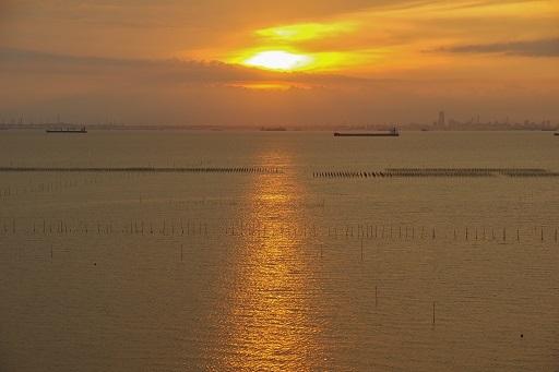 9-20み景色夕陽