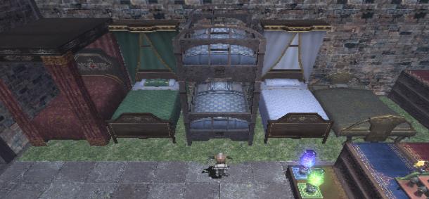 ベッドを並べてみた1