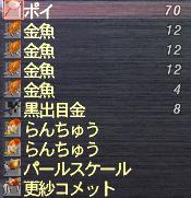 金魚リスト