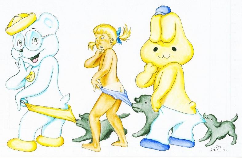 コパトーン vs ホピトーン vs ミミトーン 2012-12-1.jpg