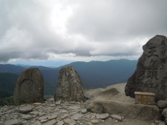 美ヶ原山頂170804