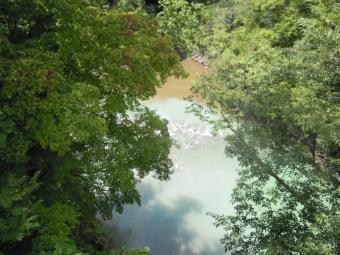 川を眺めながら170817-1