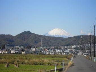 筑波山が遠く170903