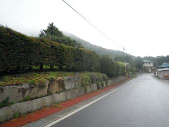 登山口に向かって170907