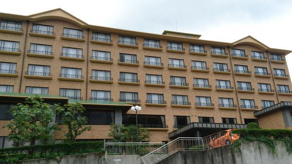 リニューアル後のホテル外観