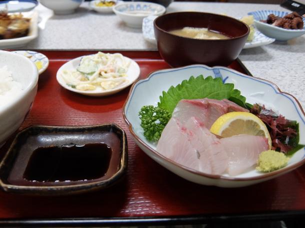 かんぱち刺身定食