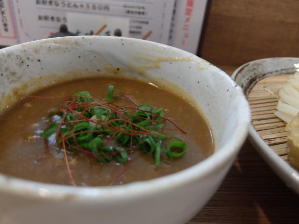 野菜カレーつけ麺