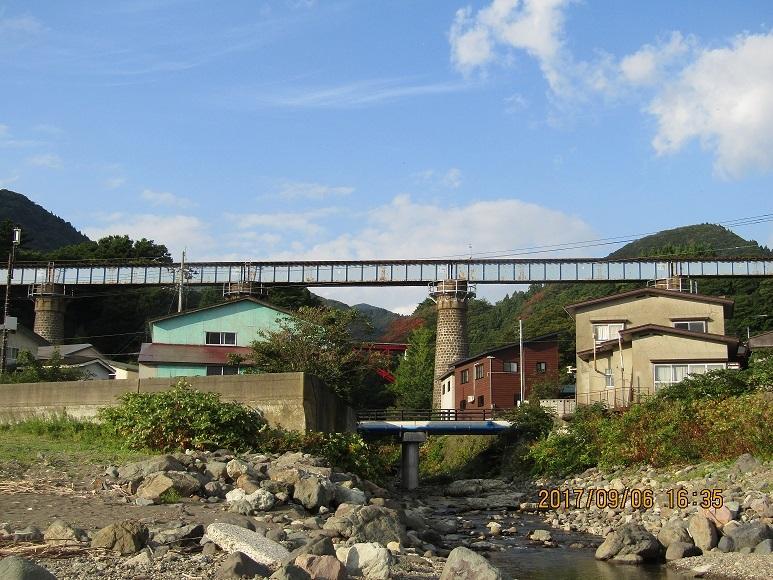 小石川陸橋、海側から