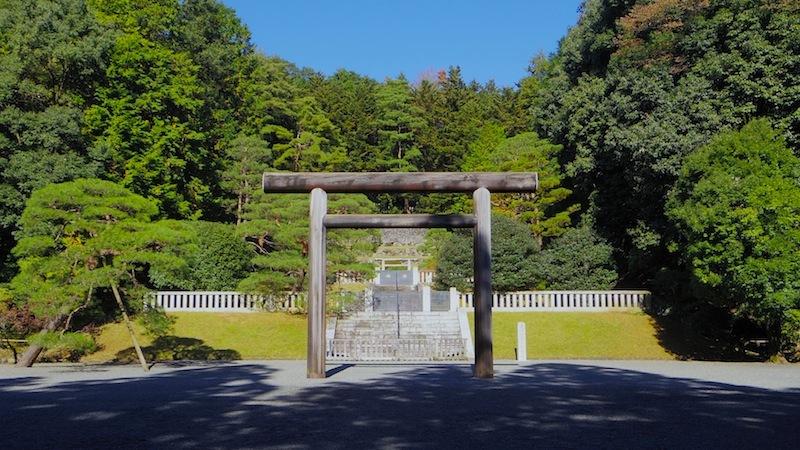 武蔵陵墓地 その2「多摩東陵(たまのひがしのみささぎ、貞明皇后陵)」