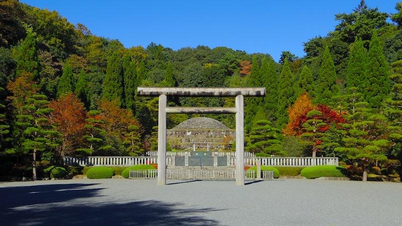 武蔵陵墓地 その3「武藏野陵(むさしののみささぎ、昭和天皇陵)」