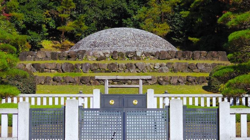 武蔵陵墓地 その4「武藏野東陵(むさしののひがしのみささぎ、香淳皇后陵)」