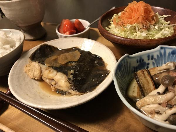 May08_黒カレイの生姜煮