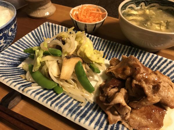 May09_豚肉焼き
