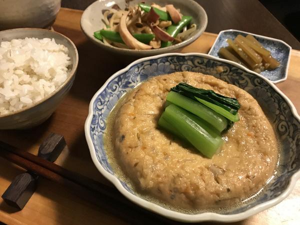May15_お豆腐屋さんの大きながんもどき