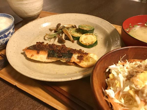 May30_海苔と玉葱の焼き鮭