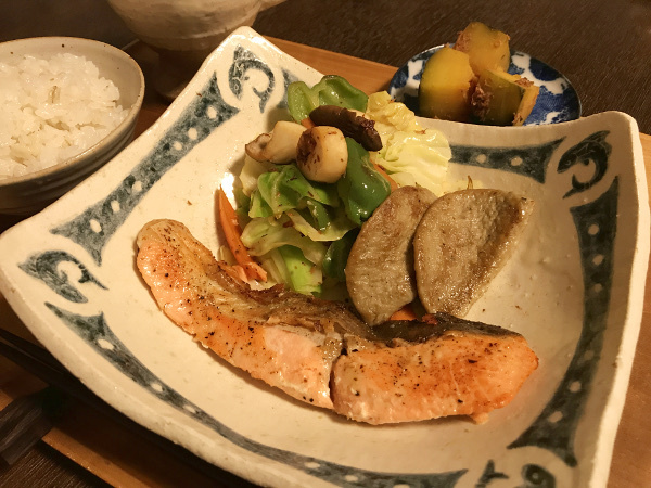 Jun21_鮭のカリカリソテー