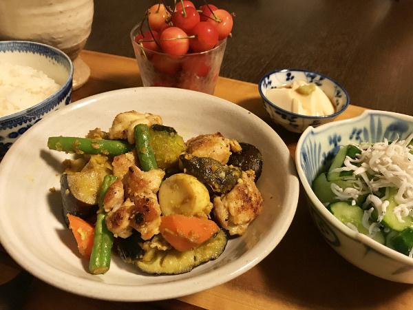 Jun23_鶏と野菜炒め