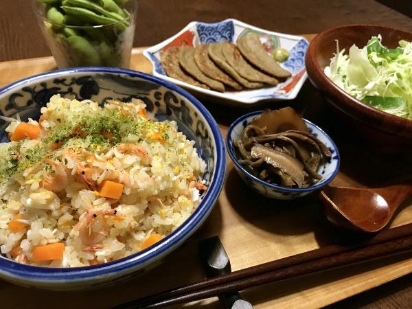 Jun27_桜エビとしらすの磯風味炒飯
