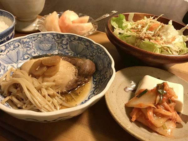 Jly10_ブリの生姜煮