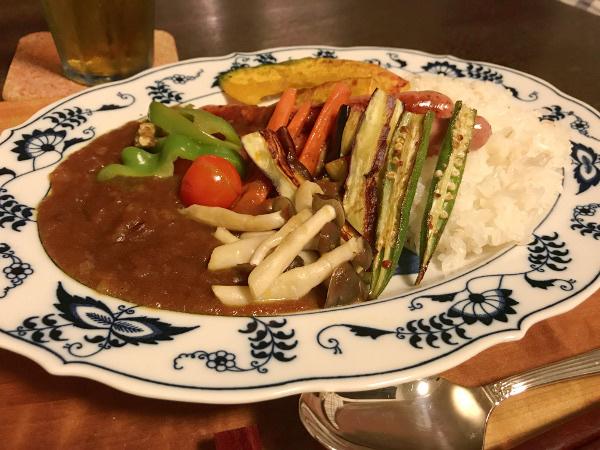 Jly18_夏野菜のカレーライス