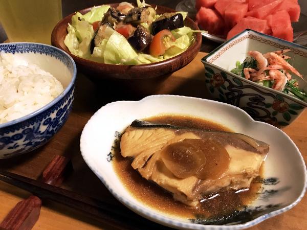 Jly19_ブリの生姜煮