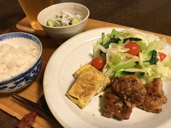 Jly26_豚肉の生姜照焼き