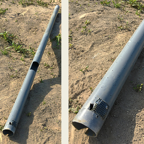 DIYで打ち抜き井戸を掘る!③ ~簡単作成穴掘り機~③