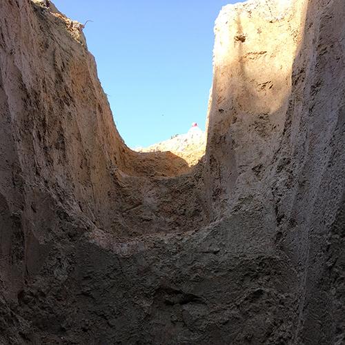 DIYで打ち抜き井戸を掘る!③ ~簡単作成穴掘り機~⑦