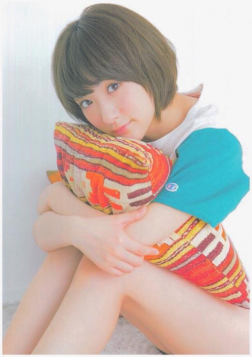 生駒里奈ちゃん、可愛い。