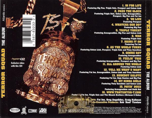 Terror Squad - The Album rear