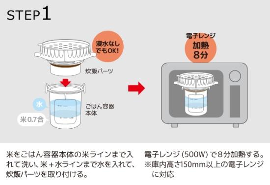 ごはんが炊ける弁当箱01