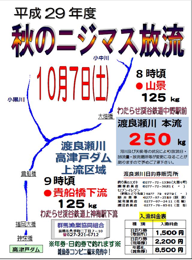 H29秋渡良瀬川ブログ