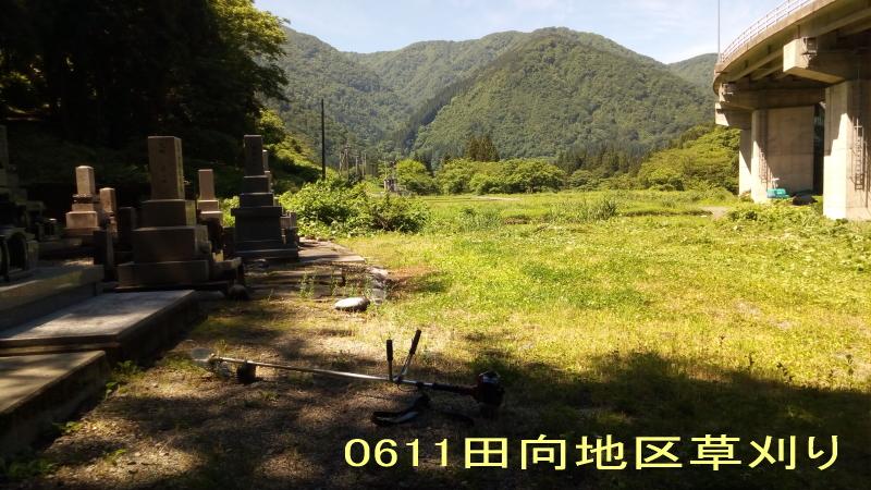 0611田向地区草刈り1