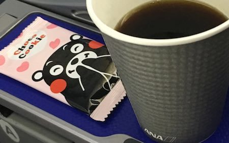 ANA28便 食後のコーヒー