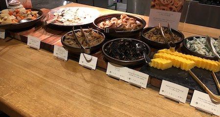 レム六本木 朝食ブッフェ 和風のお惣菜