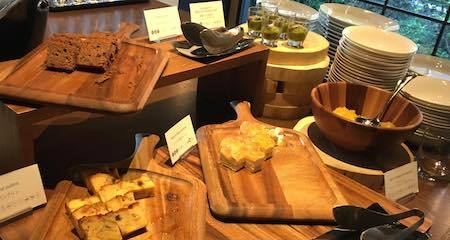 レム六本木 朝食ブッフェ デザートコーナー