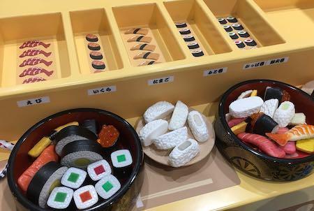 イオンモール神戸北 スキッズガーデン お寿司コーナー