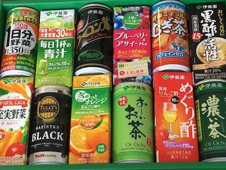 伊藤園第1種優先株式 株主優待 自社商品飲料セット